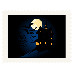 иконка ночь, хэллоуин, scary night,