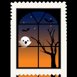 иконки приведение, окно, spooky,