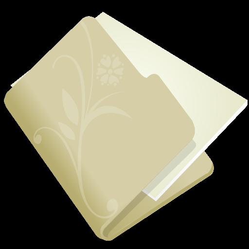 иконки папка, beige,