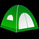 иконки палатка, путешествие, отдых, tent,