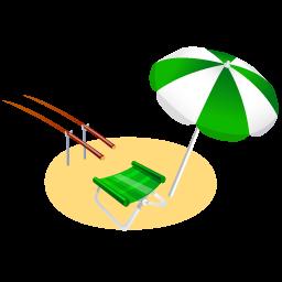 иконки отдых, пляж, fishing,