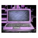 иконка ноутбук, компьютер,