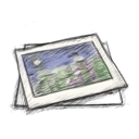 иконки  фотография, фотографии, изображение, изображения,