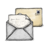 иконка письмо, конверт, почта,