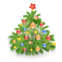 иконки новогодняя елка, новый год,
