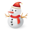 иконки снеговик, новый год, snowman,