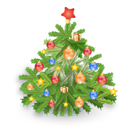иконка новогодняя елка, новый год,