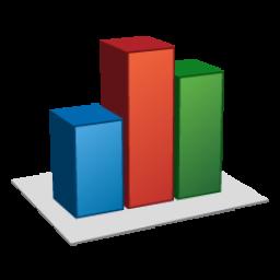 иконки статистика, bar chart,