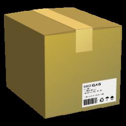 иконки  картонная коробка, ящик, box,