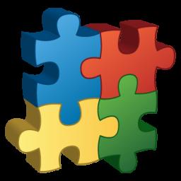 иконки пазл, компоненты, components,