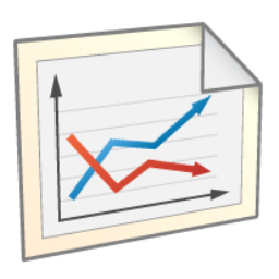 иконки линейная диаграмма, линейный график, line chart,