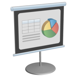 иконки презентация, presentation,