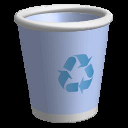 иконка пустая корзина, recycle bin,