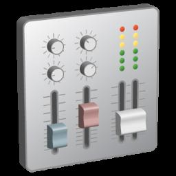 иконки панель управления, sound mixer,