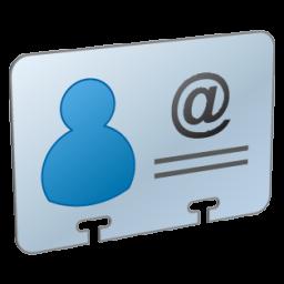 иконки визитка, контакты, vcard,