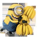 иконки миньон, гадкий я, minion, банан,