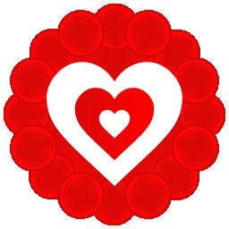 иконки heart, сердце, любовь,