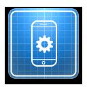 иконки settings, настройки, чертеж,  iphone,