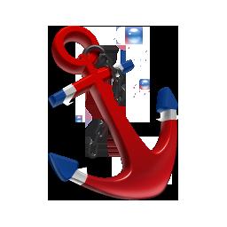 иконки якорь, anchor,