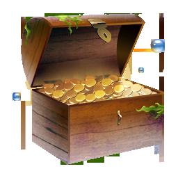 иконки сокровища, золото, сундук, treasure,