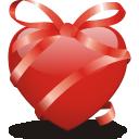 иконки сердце, любовь, подарок, ribbon, heart,