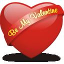иконка сердце, be my valentine,