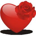 иконки сердце, heart, rose,