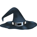 иконки шляпа, хэллоуин,