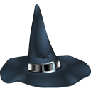 иконки хэллоуин, ведьма, witch, шляпа,