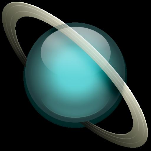 иконки  планета, uranus, уран,