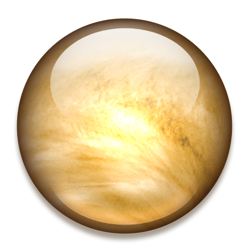 иконки  планета, venus, венера,