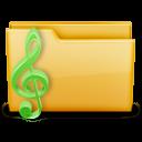 иконки music, моя музыка, мои аудиозаписи, папка, folder,