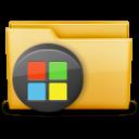 иконки windows, папка,