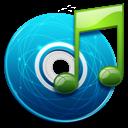 иконки  музыка, диск, нота,