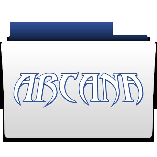 иконки папка, folder, arcana,