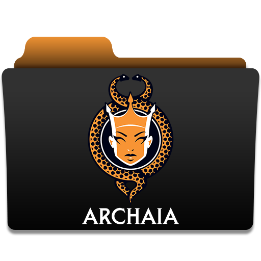 иконки папка, folder, archaia,