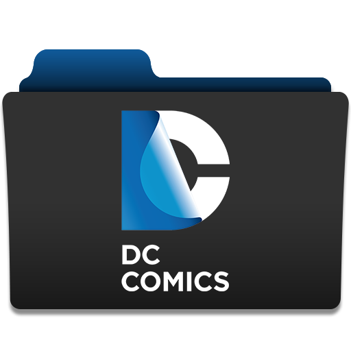 иконки  папка, folder, dc comics,  dccomics,