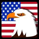 иконка сша, америка, орел,