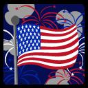 иконки сша, флаг, америка,