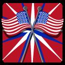 иконка флаг, сша, америка,