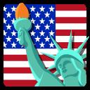 иконки сша, америка, статуя свободы, usa, нью йорк,