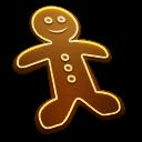 иконка Печенье, gingerbread man,