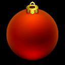 иконка Новогодний шарик, новый год, новогодний шар,
