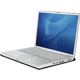 иконка ноутбук, apple powerbook,