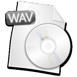 иконки wav, файл, формат, file,