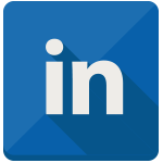 иконка linkedin, linked in,
