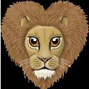 иконки лев, животное, животные, animal,
