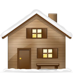 иконки дом, снег, home,