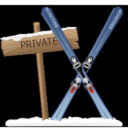 иконки указатель, приватность, лыжи, private,