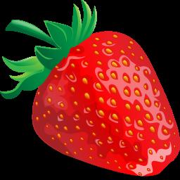 иконки клубника, ягоды, еда, erdbeere,